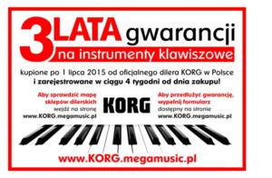 korg3latagwarancji